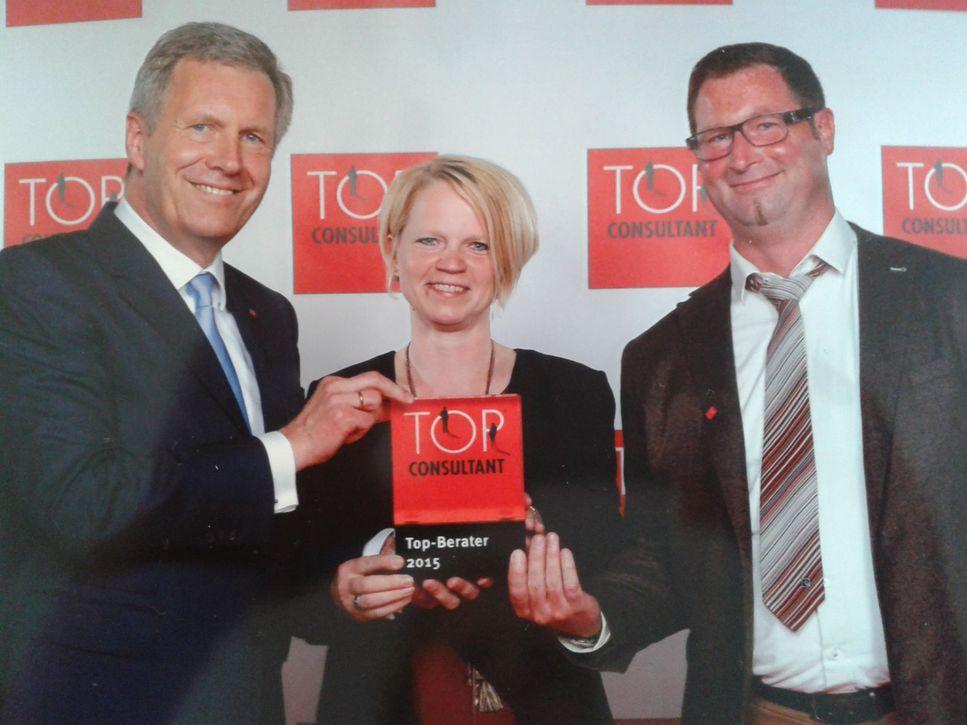 Verleihung Top Consultant