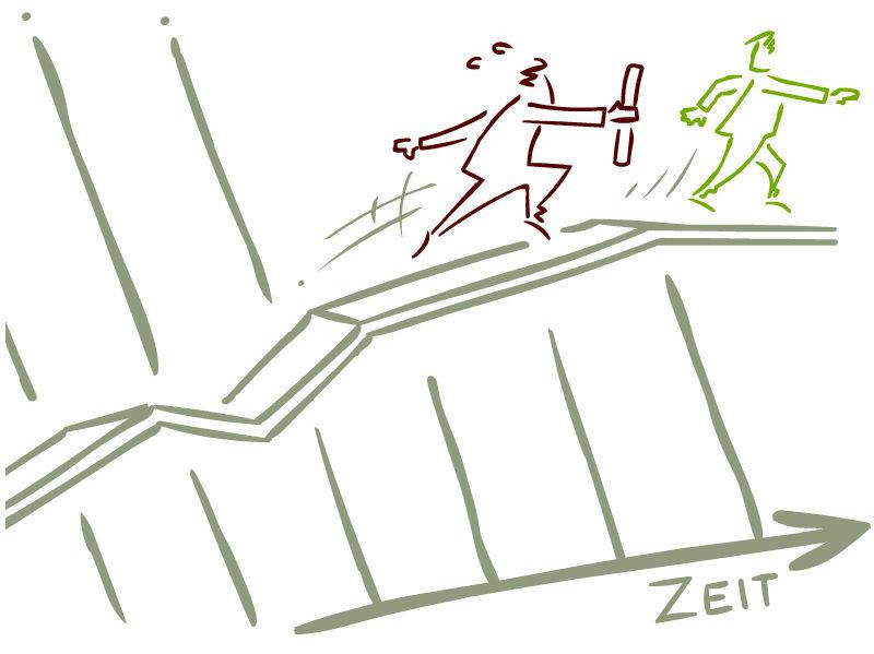 Staffelstab 4Zu3
